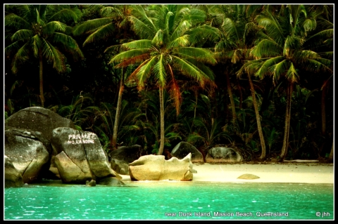 "Bedara Island is alongside Dunk Island where Kathy was based for her work in the movie ""The Age of Consent""."