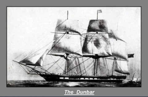 The Dunbar - wreck Sydney 1857